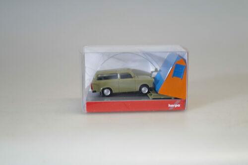 1:87 Herpa 024167 Trabant Universal grün mit Dachzelt neuw.//ovp