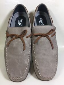 uk availability 0dd58 81c06 Image is loading Flexi-Corte-Vacuno-Light-Brown-Loafers-Men-039-