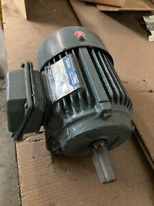 Motor 1 hp 143 T Frame 230/460 volt 3 phase
