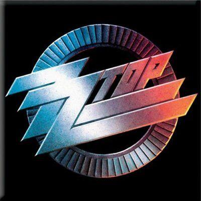 Fedele Zz Top Fridge Magnet Calamita Logo Official Merchandise