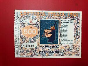 Lottery-Italy-1961-by-Year-L-500-Award-150-Million