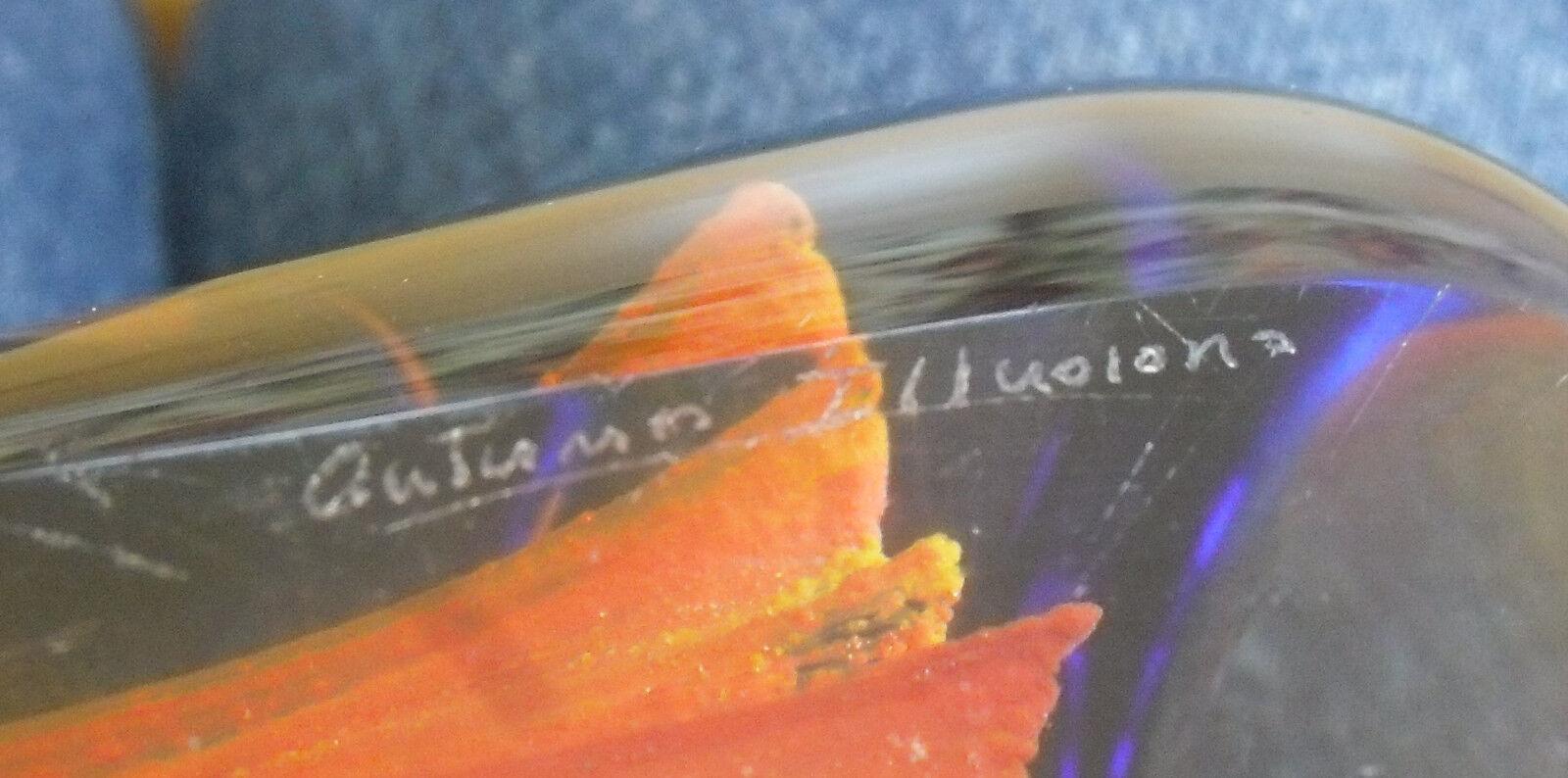 In scatola LTD ED Caithness  AUTUMN AUTUMN AUTUMN Illusions-Maple FERMACARTE  (562 650) 2b5f26