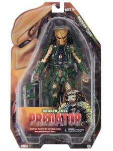 NECA-Predator-Series-18-Broken-Tusk-Predator-Action-Figure-NEW