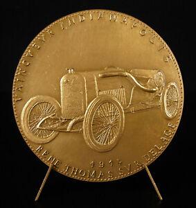 Medal-Louis-Delage-Automobiles-1914-Indy-500-Rene-Thomas-Model-1st-Medal