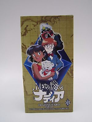 The Secret of Blue Water Trading Card Part II Sealed Box Movic Japanese Nadia