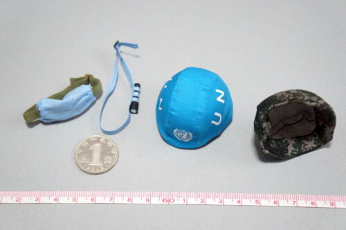 FLAGSET 73016 1//6 scale Chinese peacekeeping Infantry Battalion Helmet goggles