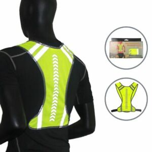 Outdoor Reflective Safety Vest High Visibility Running Cycling Gear Night Sports