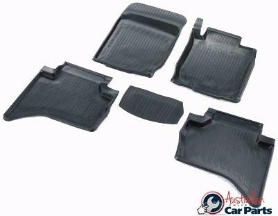 Mitsubishi Triton Rubber Mats High side Dual cab 2007-2017 New Genuine SET OF 4