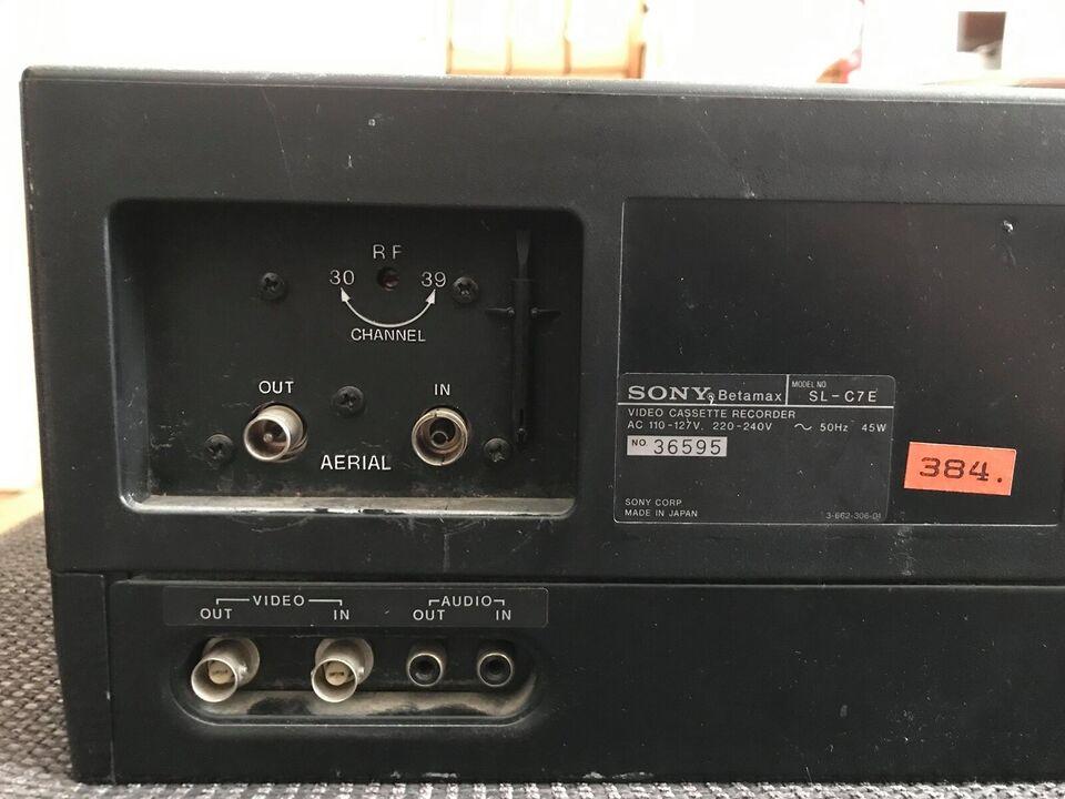 Betamax, Sony, Sony Betamax SL-C7E