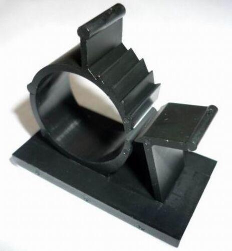 Kabelhalter Schellen Kabelaufhänger Kabelbinder selbstklebend Ø10,13,15,20,25mm