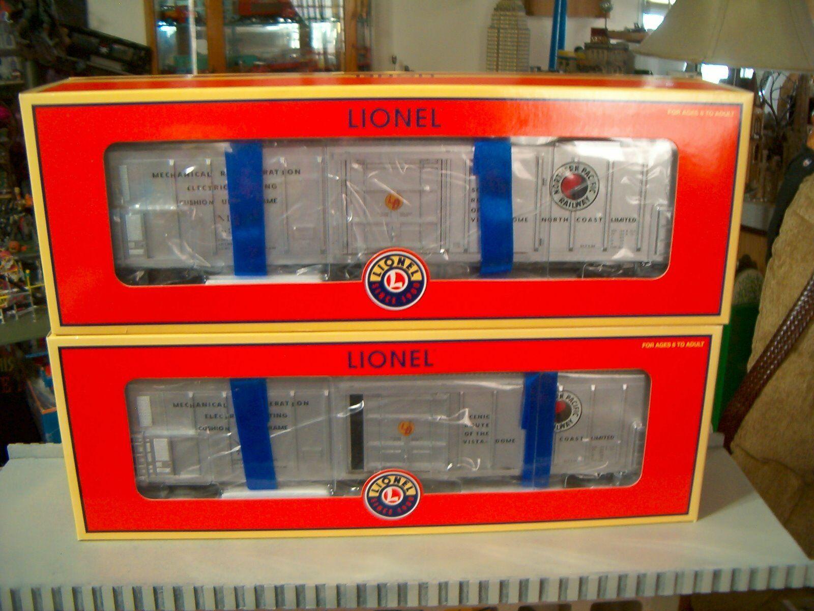 Inlionel 627388 & 627389 Northern Pacific Set di 2 meccaniche Ree Nuovo in Scatola MTH K LI