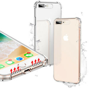 FOR-IPHONE-X-XS-XS-MAX-XR-7-8-PLUS-CLEAR-GEL-TPU-CASE-COVER-STRONG-SHOCKPROOF