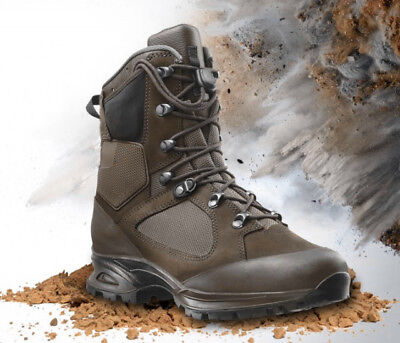 87abcbcd40c Haix Nepal pro military shoes boots Waterproof Gore-Tex Hiking Military  Brown
