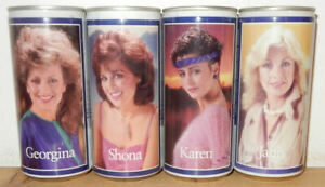 Tennent's Girls 4 cans set Issued 1984-1985 from SCOTLAND (44cl)
