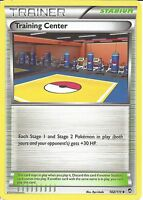 POKEMON XY FURIOUS FISTS - TRAINING CENTER 102/111 - TRAINER CARD