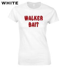 Zombie Bait Damen T-Shirt Zombie Horror Walking Dead Daryl Dixon Rick Grimes