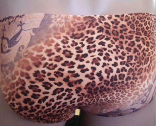 Brief s m l or xl made USA Mens Custom Swimsuit Leopard Handmade New Spandex