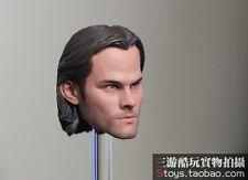 "FUNTOYS 1:6 Supernatural Sam Winchester Jared Padalecki Head sculpt For 12"" Body"