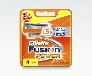 Gillette-Fusion-Power-Rasierklingen-4-Stueck-Ersatzklingen-OVP-mit-Seriennummer