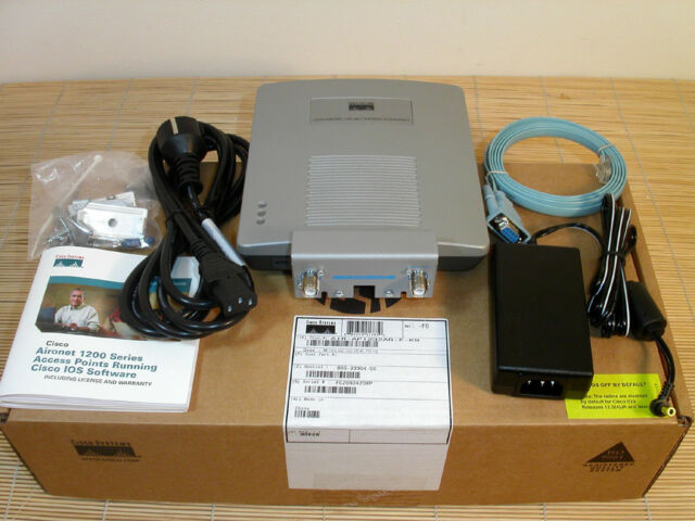 Cisco AIR-AP1232AG-E-K9 54 Mbps Access Point used in BOX