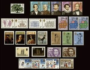 GB-1973-Commemorative-Stamps-Year-Set-Unmounted-Mint-UK-Seller