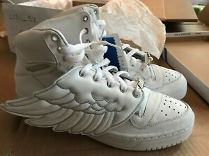 Details about New in Box Adidas Jeremy Scott JS Wings White Angel 1st issue ObyO size 10.5