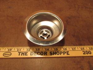 Surprising Details About Antique Sink Basket Strainer Kitchen Drain Nos Metal Bathroom Vintage Washroom Download Free Architecture Designs Oxytwazosbritishbridgeorg
