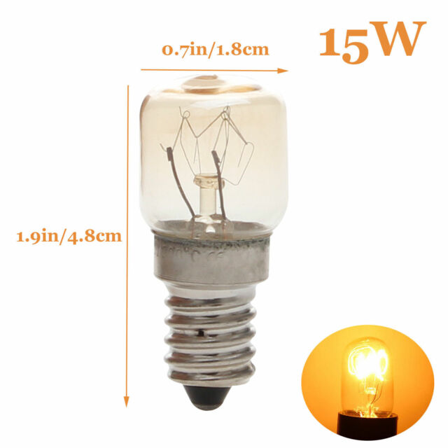 Oven Light Cooker Microwave Bulb SES E14 15W 25W High Temperature 220V Lamp RD38