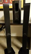 Panasonic SB-HF950 Tower Speakers, & SB-HW950 Subwoofer For Home Theater Systems