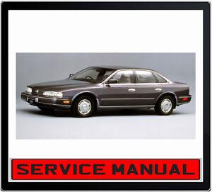 NISSAN-INFINITI-Q45-1990-1996-WORKSHOP-REPAIR-SERVICE-MANUAL-IN-DVD
