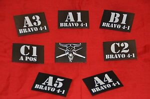 Custom-Operator-ID-Name-Number-Patch-IR-Infrared-Hook-Airsoft-Military-Unit