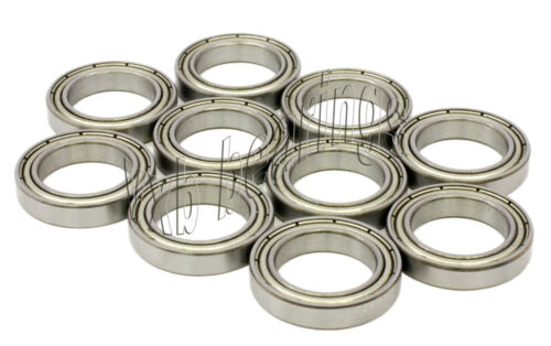 Wholesale Lot 10 Ball Bearings 6702ZZ 15x21x4 Shielded
