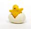 Die-cast-Plastic-Little-Chicks-and-Eggs-Set-of-12-German-Import-IV3-3623 thumbnail 1