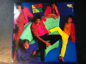 ROLLING-STONES-DIRTY-WORK-Vinyl-LP-CBS-1986-VG-CONDITION
