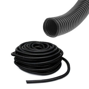 50-039-Feet-15MM-Split-Loom-Wire-Flexible-Tubing-Conduit-Polyethylene-Hose