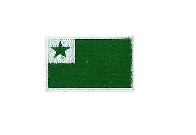 Flag patch patches embroidered iron sew badge backpack cloth saint david