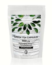Green Tea 850mg Camellia Extract Antioxidant Vitamins Capsules