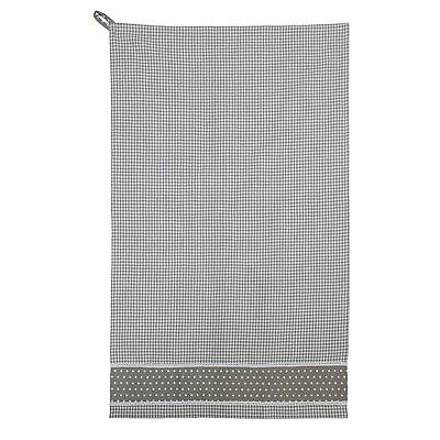 Beige Bianco Percalle Stelle Pizzo 100% Cotone Asciugamani Da Cucina 50cm X 85cm-