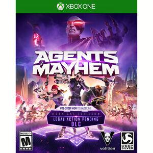 Agents of Mayhem - Day One Edition Xbox One [Brand New]