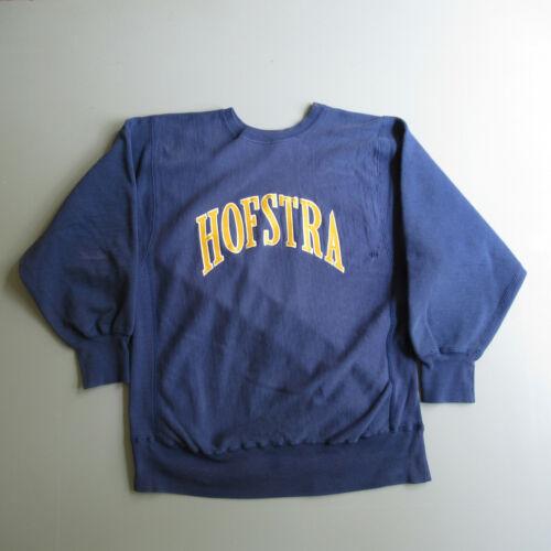 Vtg Champion Sweatshirt Reverse Weave Hofstra Univ