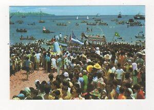 Brazil-Salvador-Procissao-Maritima-do-Senhor-dos-Navegantes-Postcard-780a