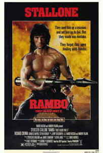 Rambo-First-Blood-Part-II-2-1985-Style-A-Sylvester-Stallone-Movie-Poster-27x40