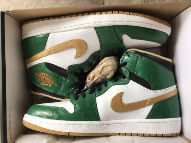 info for ad5c3 fe080 DS Nike Air Jordan 1 Retro High OG 10 555088 315 Clover Celtics St.  Patrick s