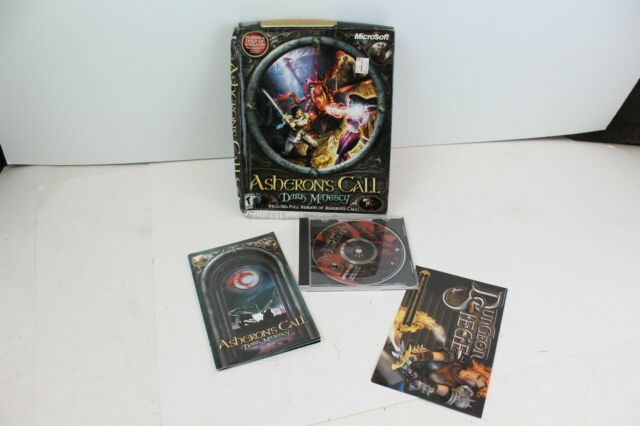 Asheron's Call BIG BOX PC game rare Dark Majesty in box
