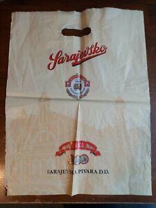 Sarajevsko-RARE-Official-Brewery-Carrier-Plastic-Bag-Sarajevo-Bosnia-2015-Used