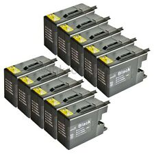 10 Patronen Brother black für den Drucker MFC-J5910DW LC 1280 XXL NEU inkcompany