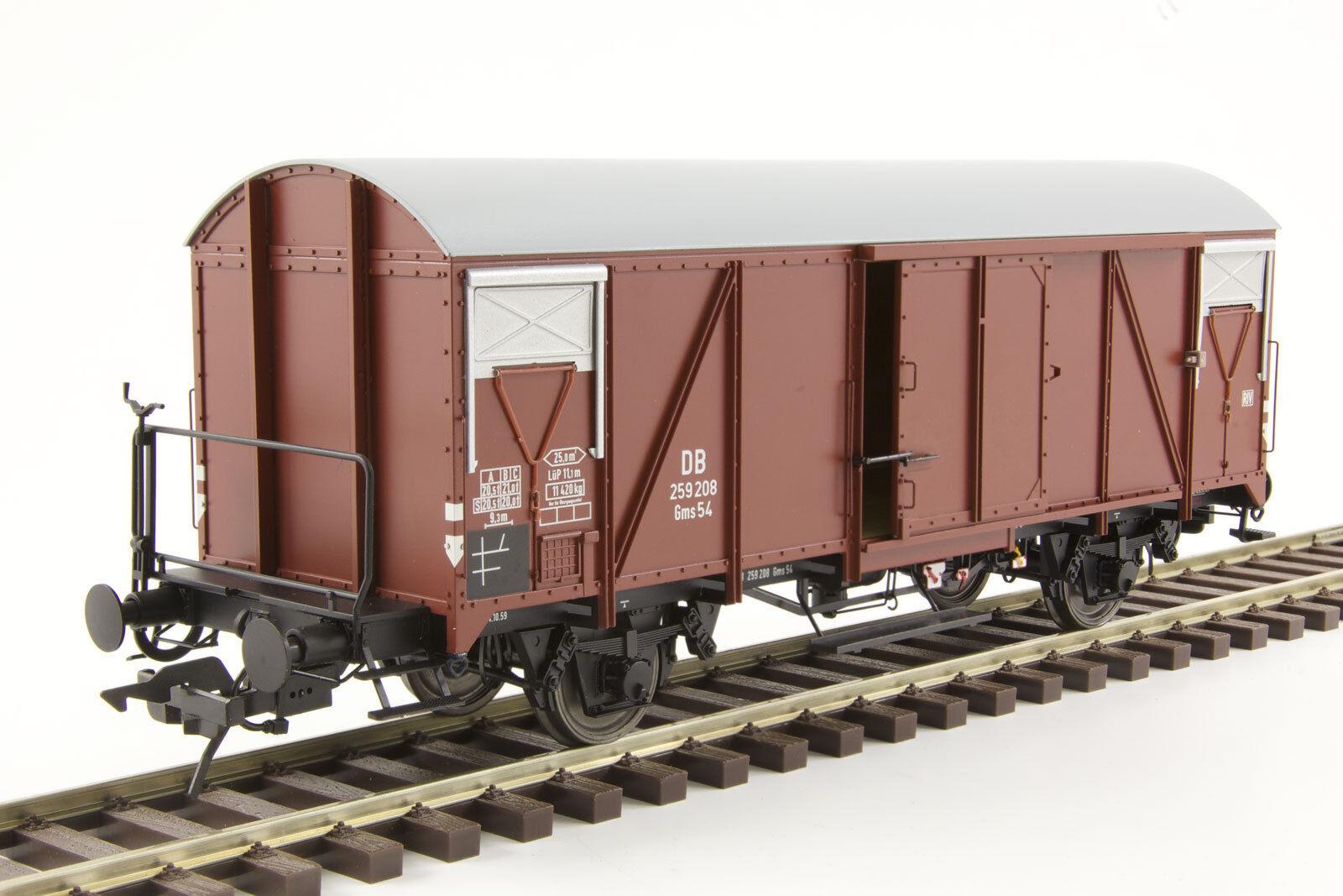 Lenz 42235-01 carri merci GMS 54 con scena rimproverate DB traccia 0