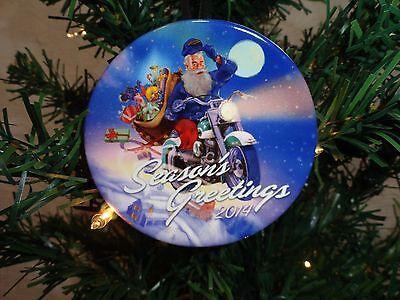 Harley Davidson Mini Plate Christmas Tree Ornament | eBay