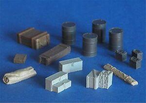 Diorama-Zubehoer-Resin-Kit-Ausruestungsset-Varianten-1-1-35-GMK-World-War-II