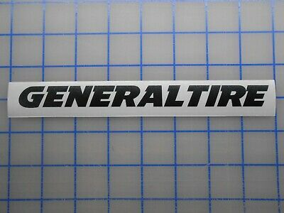 "General Tire Adesivo 7.5/"" 11/"" AT3 Grabber X3 Hd UHP G-Max Drift Corrida Off Road Gt"